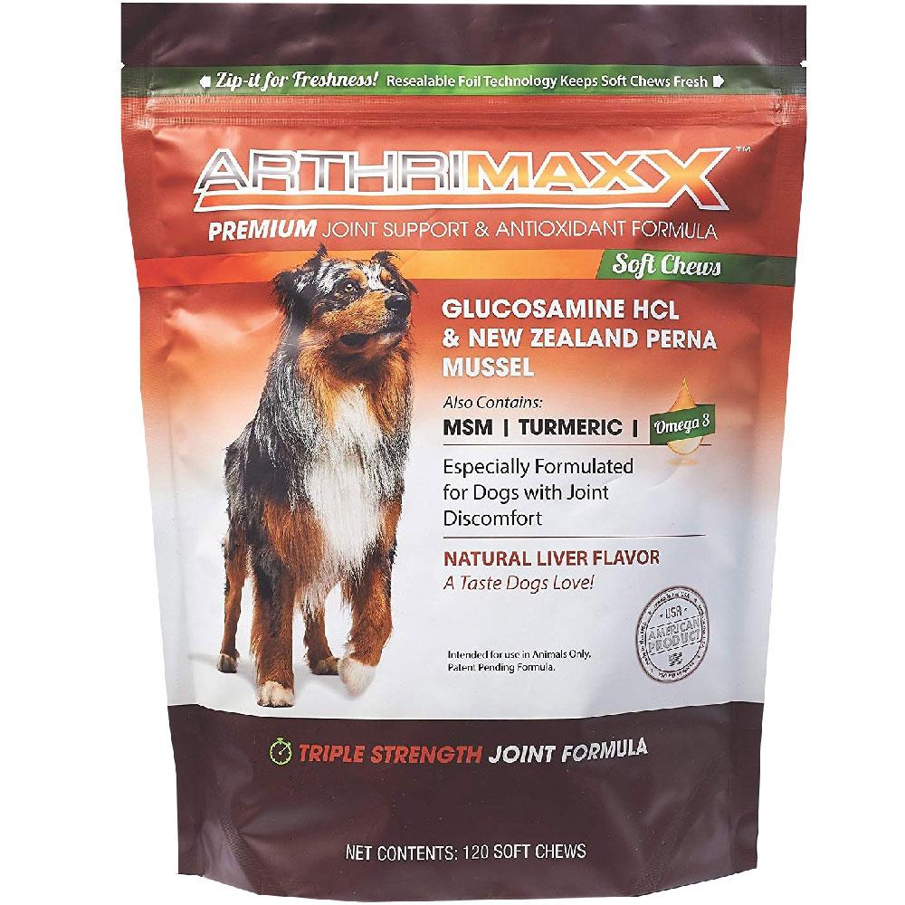 ArthriMAXX Premium Joint Supplement (120 Chews)