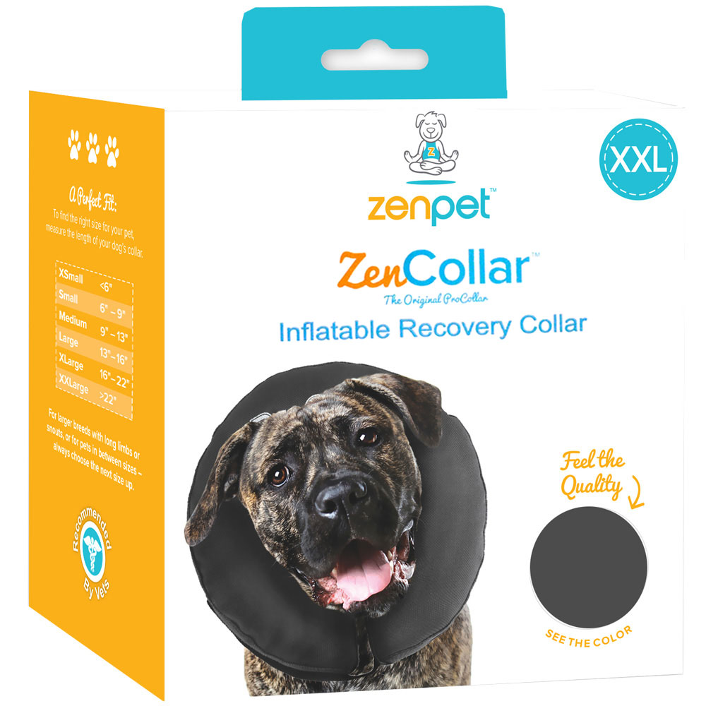 ZenPet ZenCollar Inflatable Recovery Collar - XXLarge