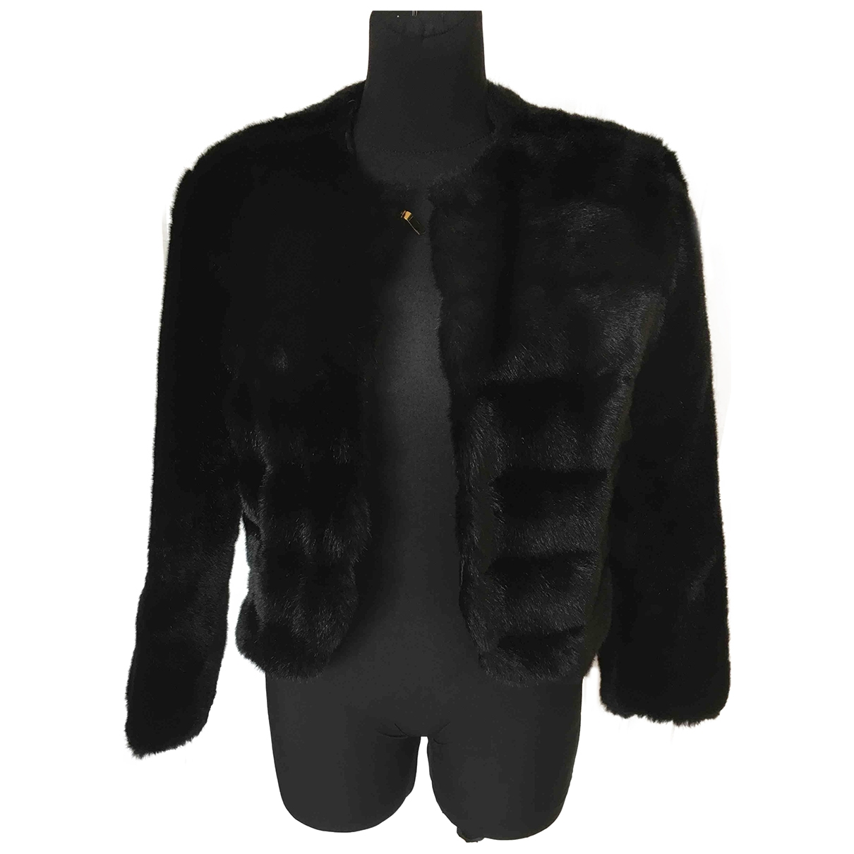 Non Signé / Unsigned \N Black coat for Women 46 IT