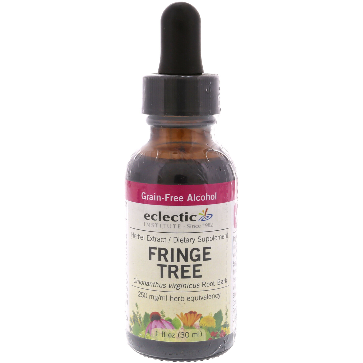 Eclectic Institute Herbal Extract Fringe Tree Dietary Supplement - 1 oz