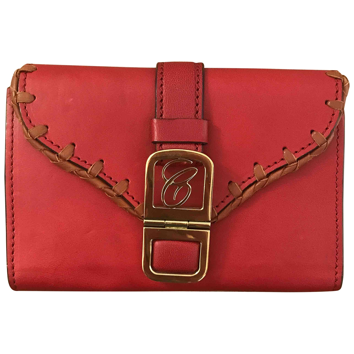 Chloé \N Red Leather wallet for Women \N