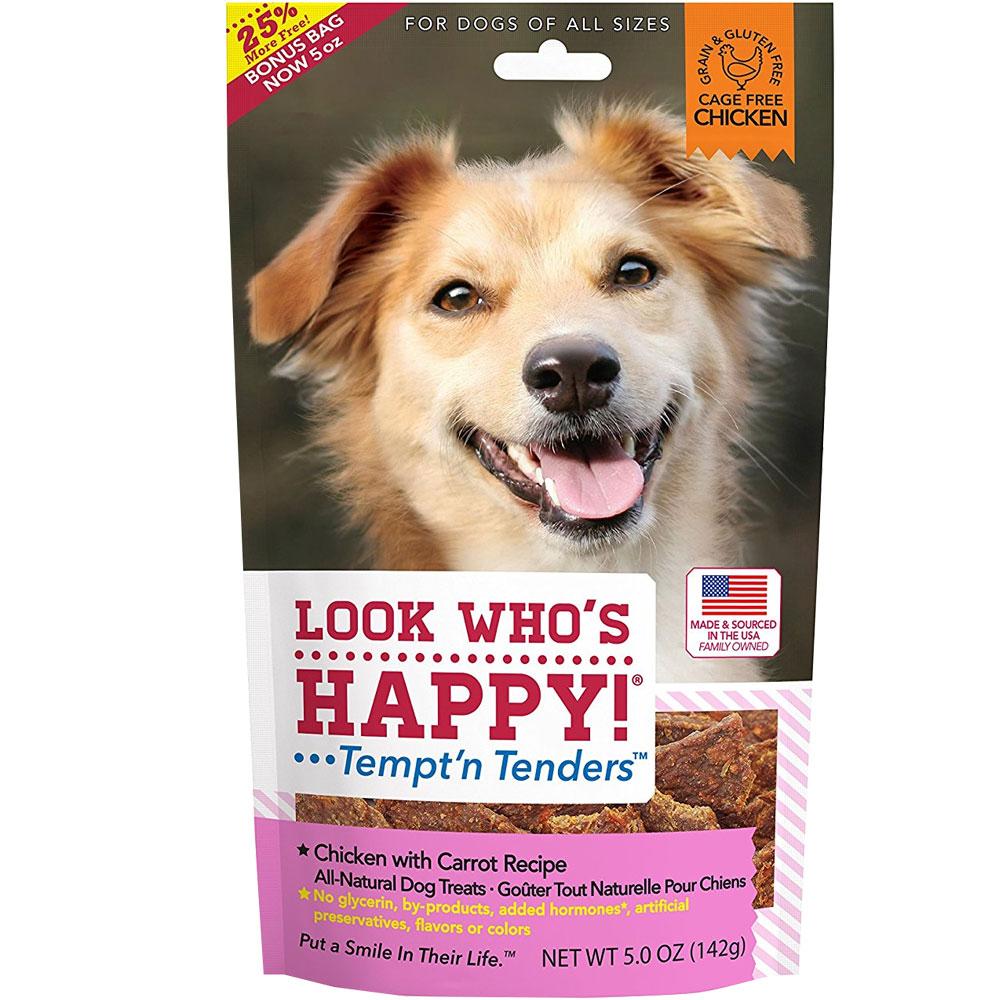 Look Who's Happy! Tempt'n Tenders - Chicken & Carrot (5 oz)