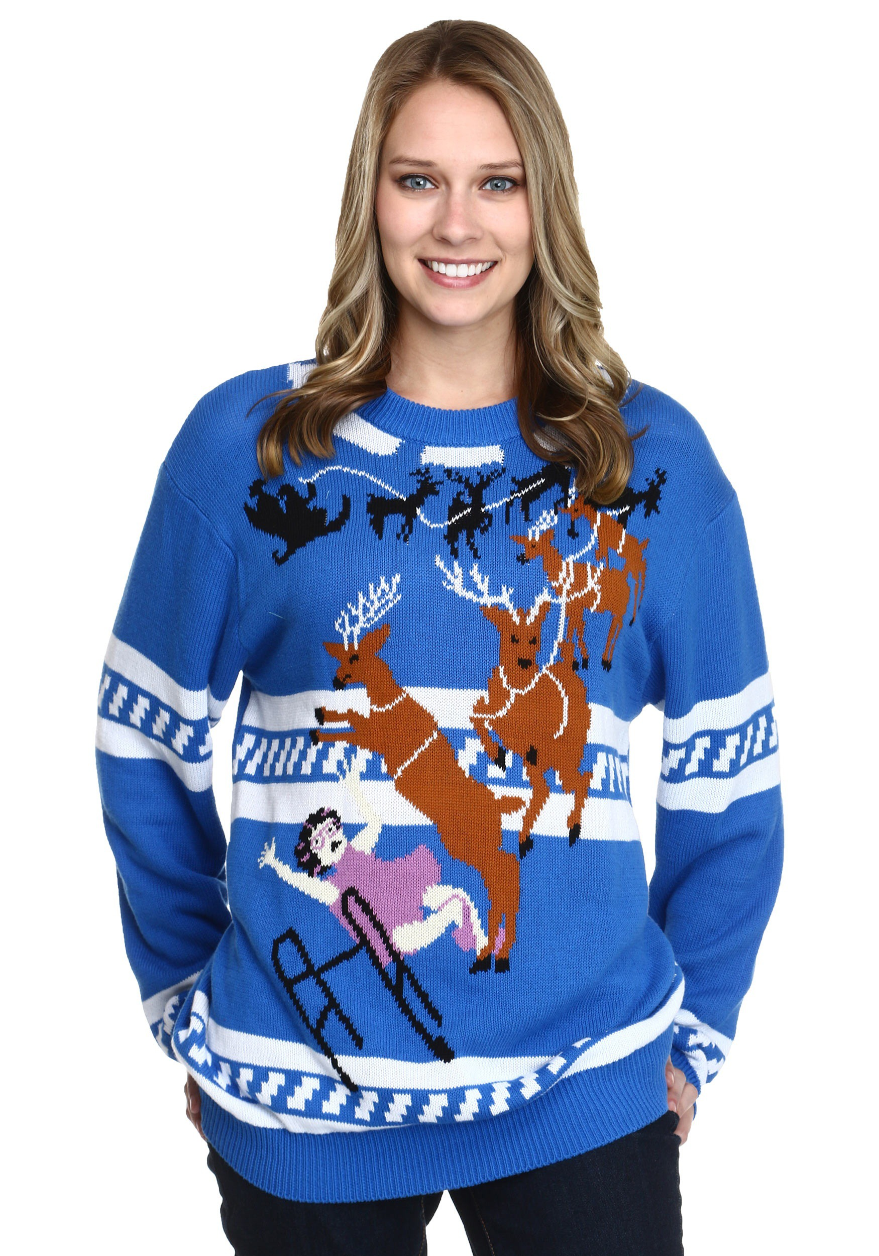 Granny Got Run Over by a Reindeer Ugly Christmas Sweater