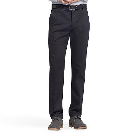 Lee Total Freedom Men's Slim Fit Khaki Pants, 31 30, Black