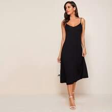 Hidden Pocket Side Cami Dress