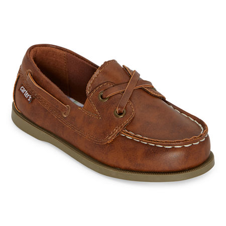 Carter's Toddler Boys Bauk2 Boat Shoes, 10 Medium, Brown