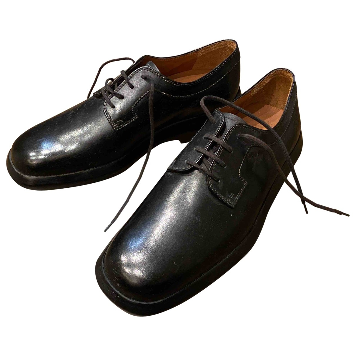 Tod's \N Black Leather Lace ups for Men 7.5 UK