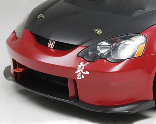 Js Racing Type S Front Bumper with FRP Under Panel Acura RSX 02-04