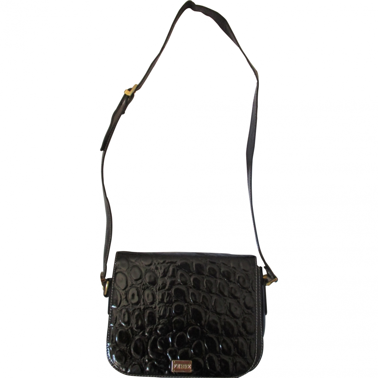 Gianfranco Ferré \N Black Leather handbag for Women \N