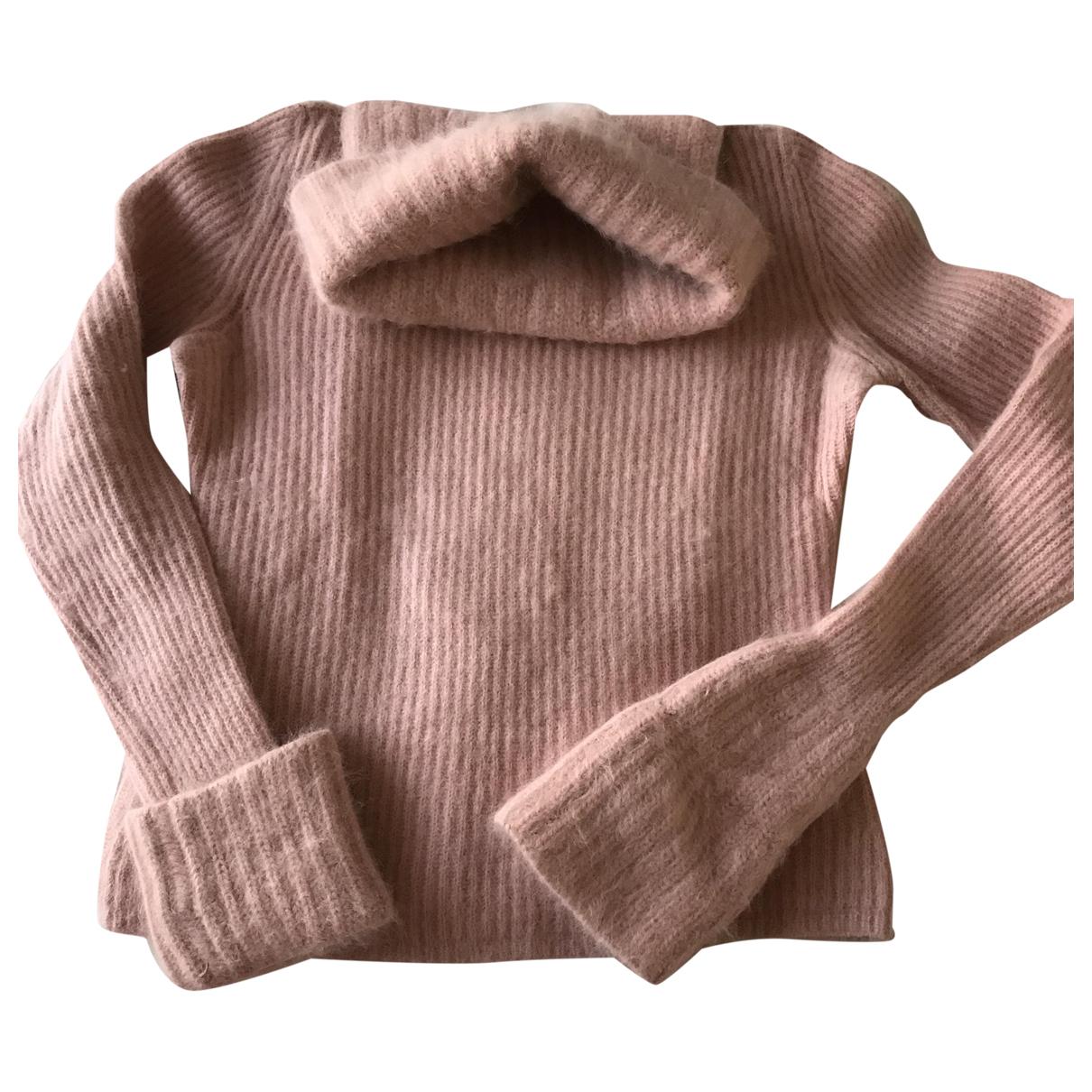 Ermanno Scervino \N Pink Wool Knitwear for Women 42 IT