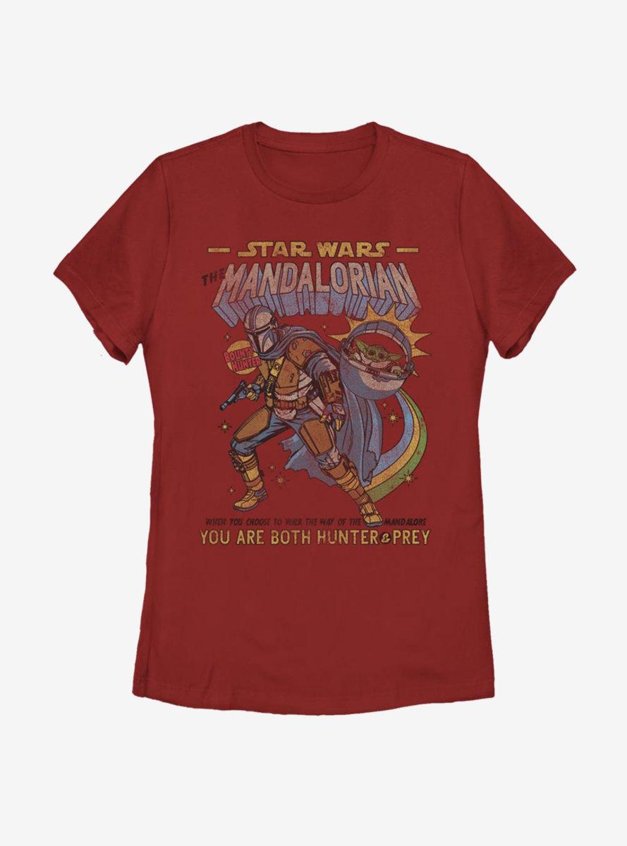 Star Wars The Mandalorian The Child Comic Womens T-Shirt
