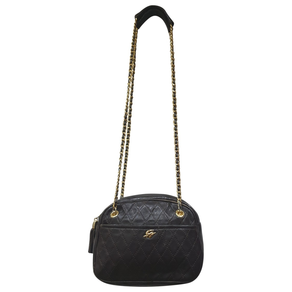 Genny \N Brown Leather handbag for Women \N