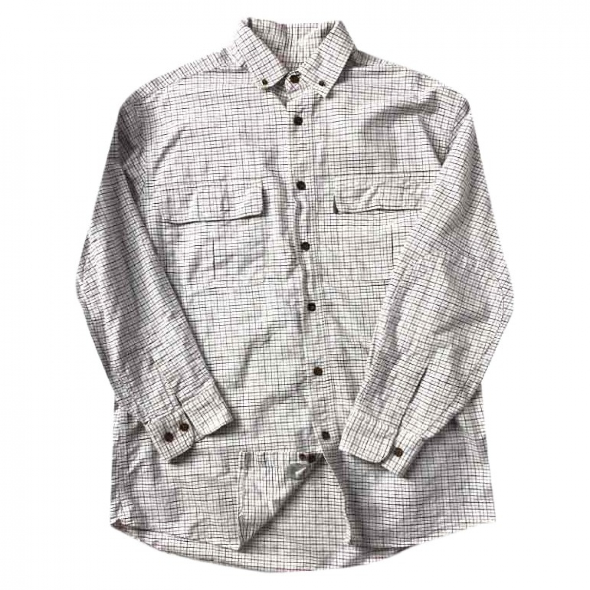 Woolrich \N White Cotton Shirts for Men L International