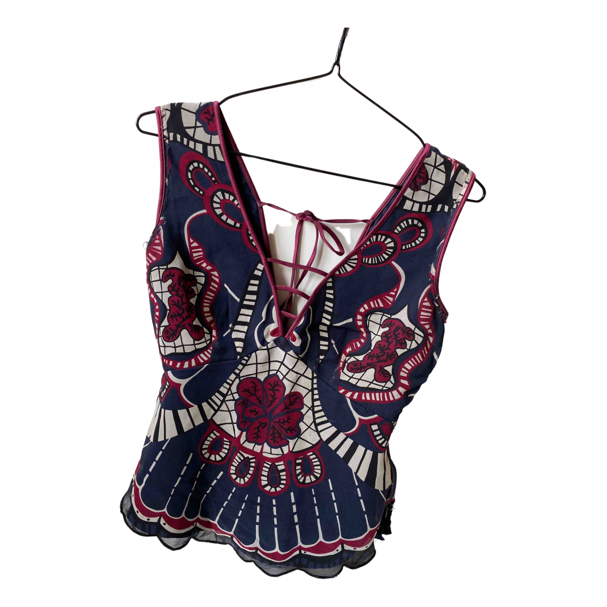 Temperley London \N Multicolour Silk  top for Women 6 UK