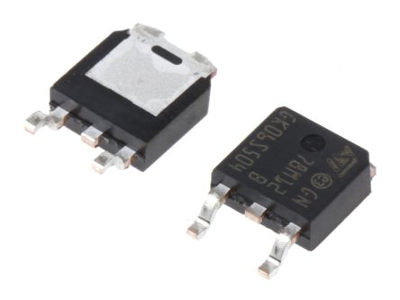 STMicroelectronics , 12 V Linear Voltage Regulator, 500mA, 1-Channel, ±2% 3-Pin, DPAK L78M12ABDT-TR (25)