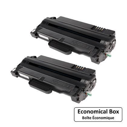 Compatible Samsung MLT-D105L cartouche de toner - boite economique - 2/paquet