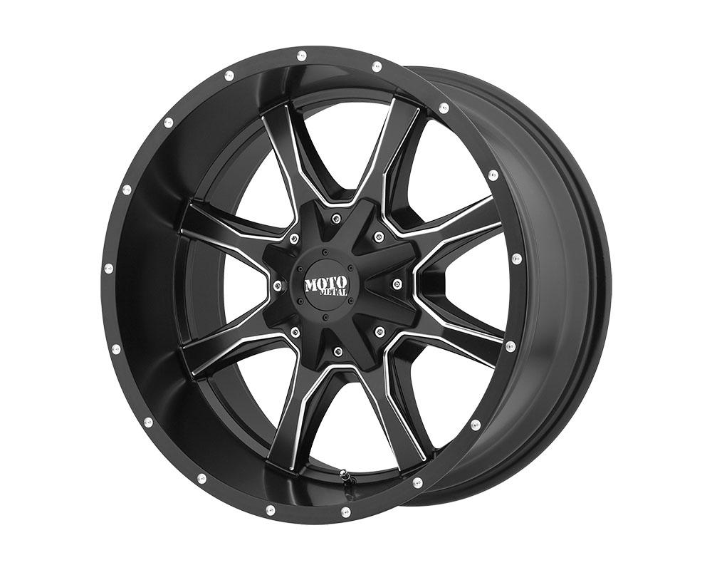Moto Metal MO97022287944N MO970 Wheel 22x12 8x8x170 -44mm Satin Black Milled