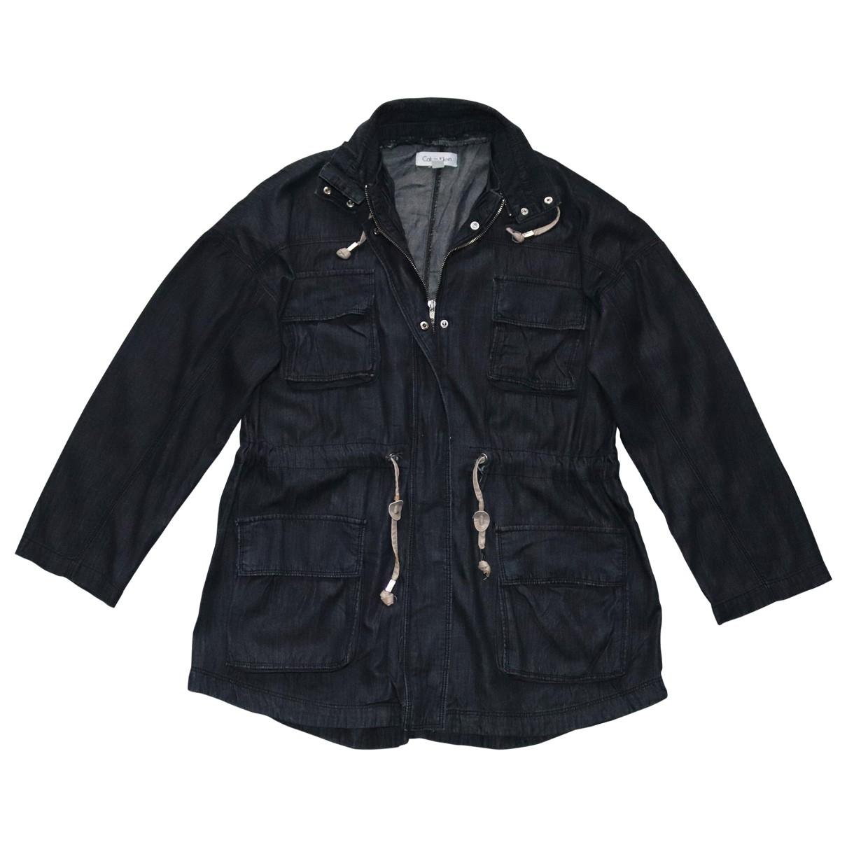 Calvin Klein \N Navy Denim - Jeans jacket for Women M International