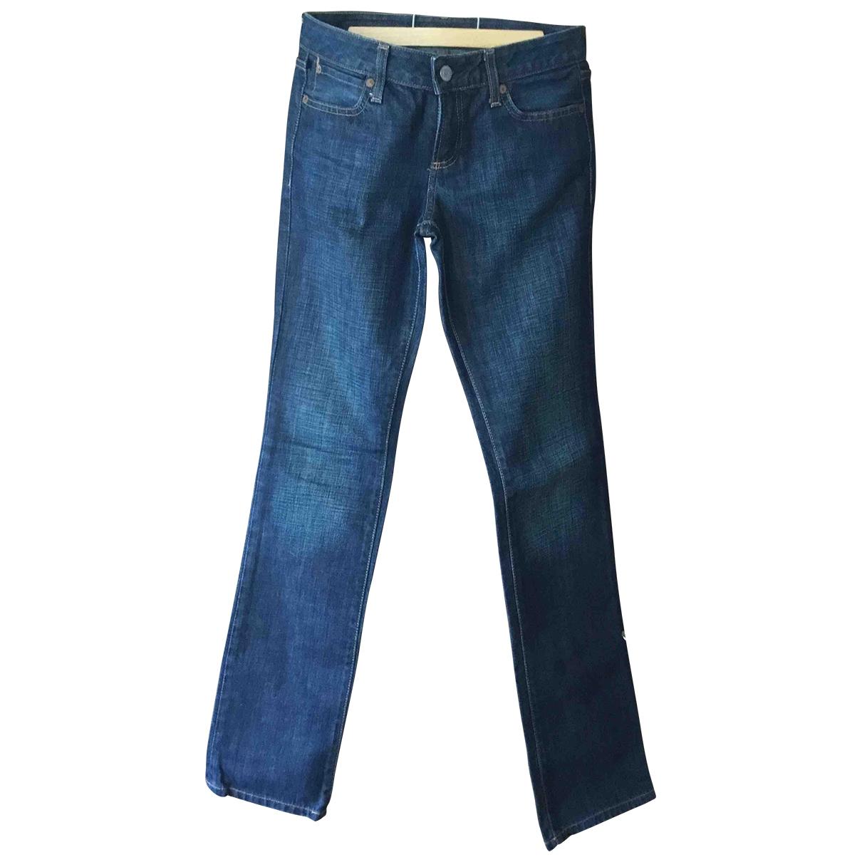 Polo Ralph Lauren \N Blue Cotton Jeans for Women 36 FR