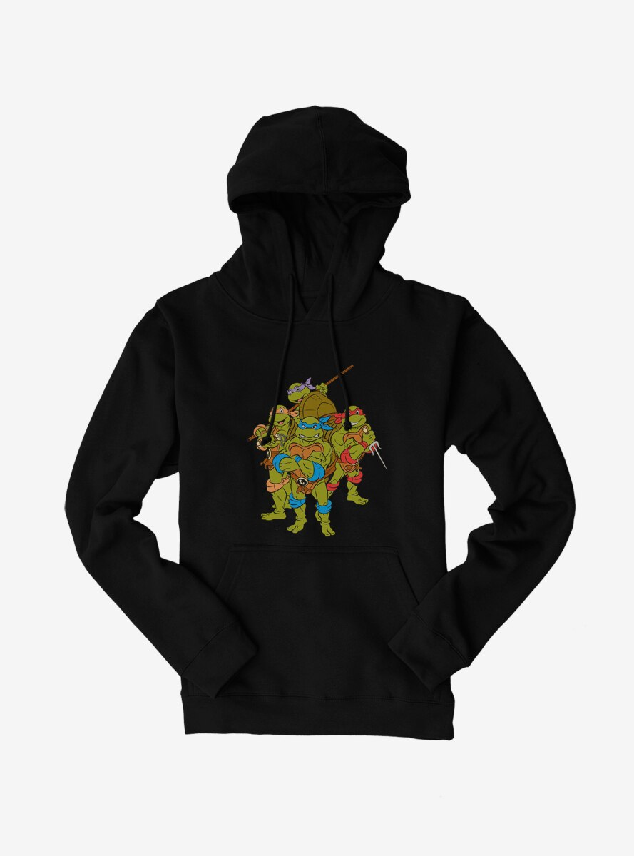Teenage Mutant Ninja Turtles Group Pose Hoodie