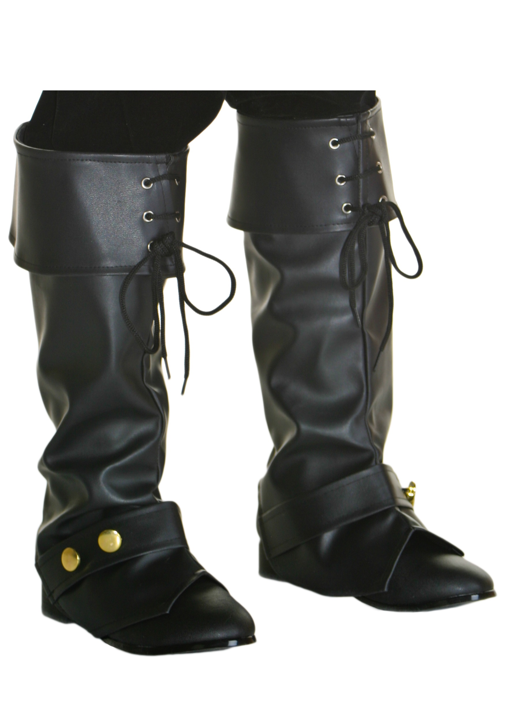 Deluxe Pirate Boot Tops for Kids