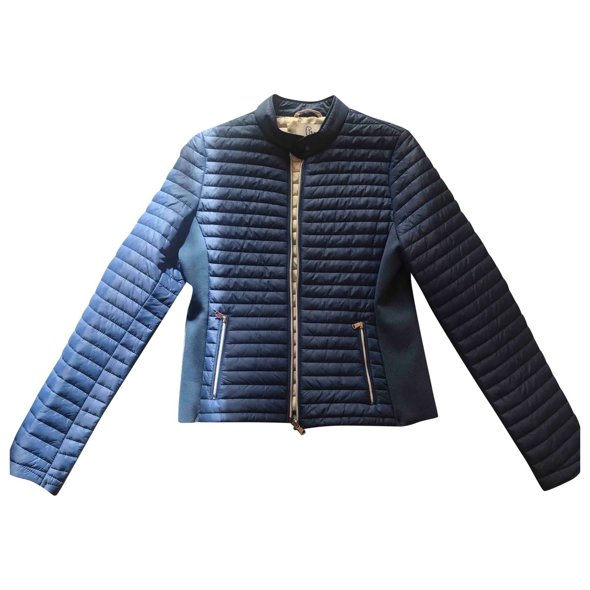 Non Signé / Unsigned \N Blue jacket for Women 42 IT