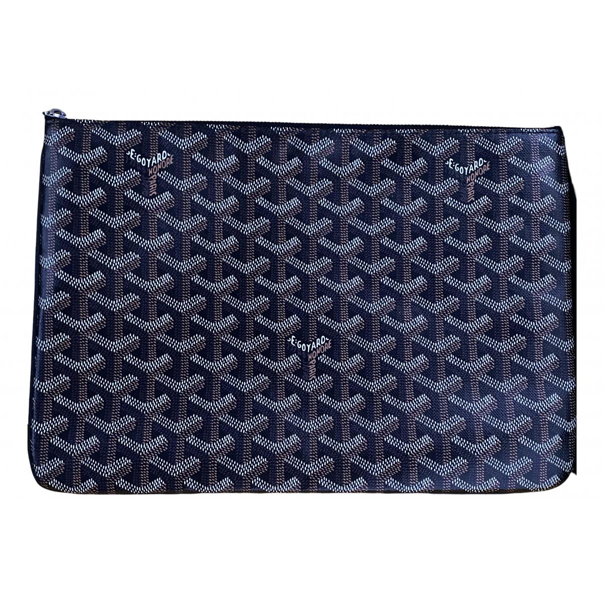 Goyard Sénat Black Cloth Clutch bag for Women \N