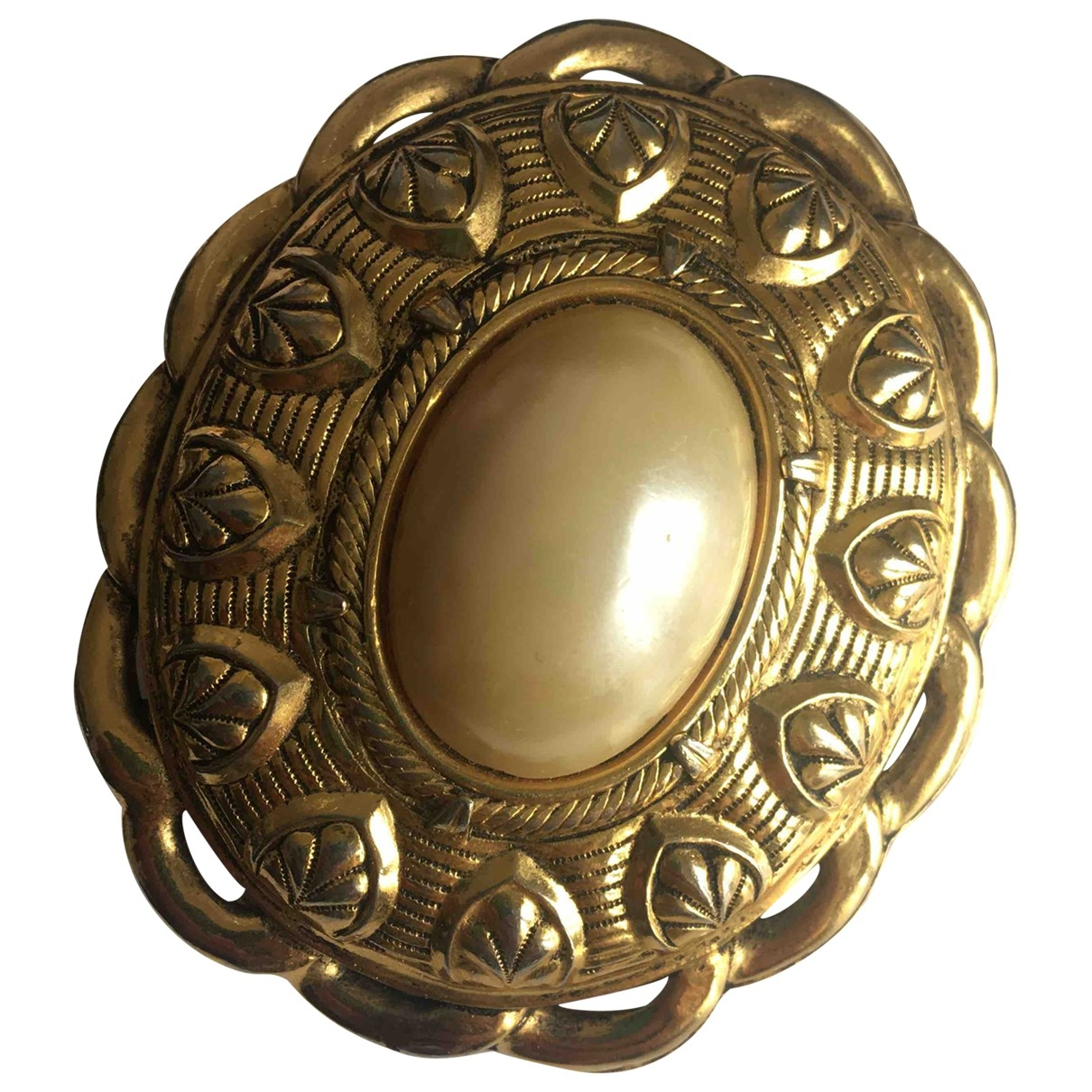 Reminiscence \N Gold Metal Pins & brooches for Women \N