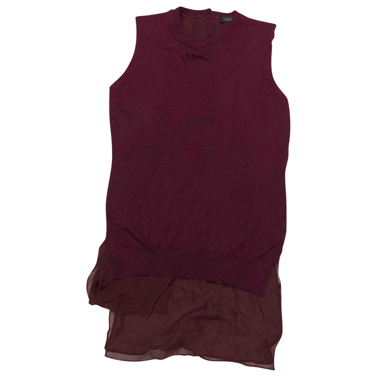 Joseph \N Burgundy Wool Knitwear for Women S International