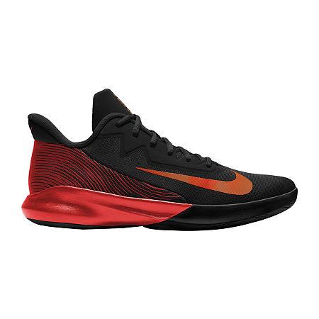 Nike Precision IV Mens Basketball Shoes, 8 Medium, Black