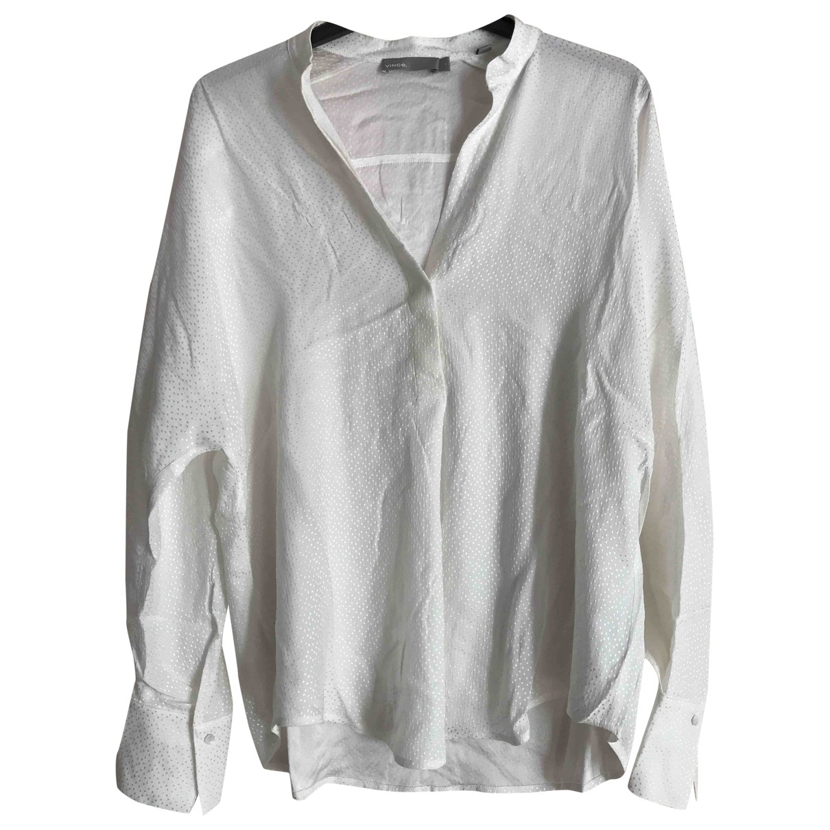Vince \N White Silk  top for Women S International