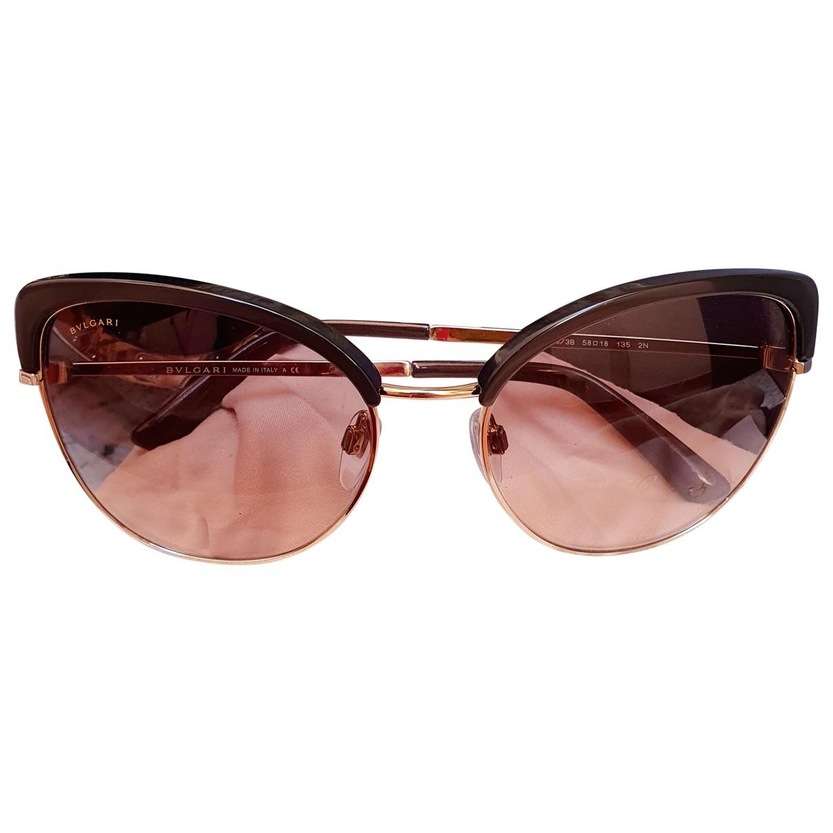Bvlgari \N Silver Metal Sunglasses for Women \N