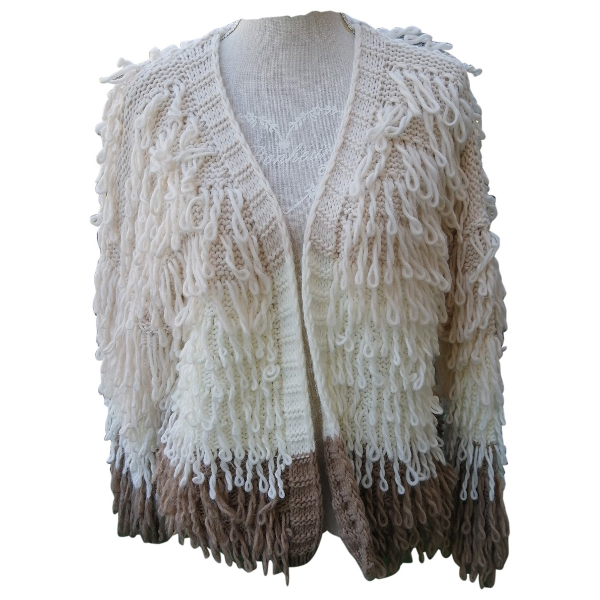 Non Signé / Unsigned \N Beige Wool Knitwear for Women One Size FR