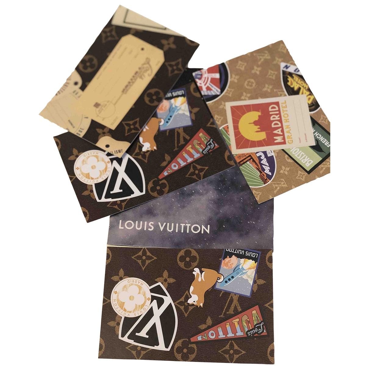 Louis Vuitton \N Multicolour Cotton Fashion for Life & Living \N