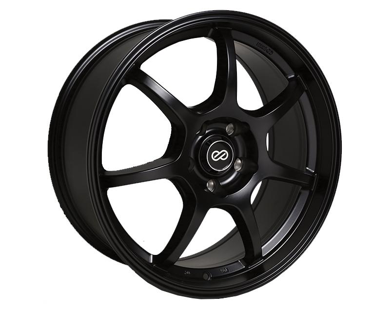 Enkei GT7 Wheel Performance Series Black 18x8 5x114.3 40mm