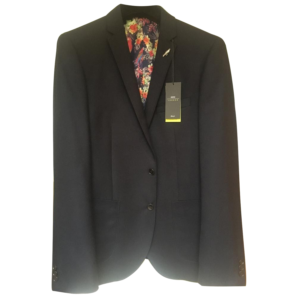 Non Signé / Unsigned \N Navy jacket  for Men 42 UK - US