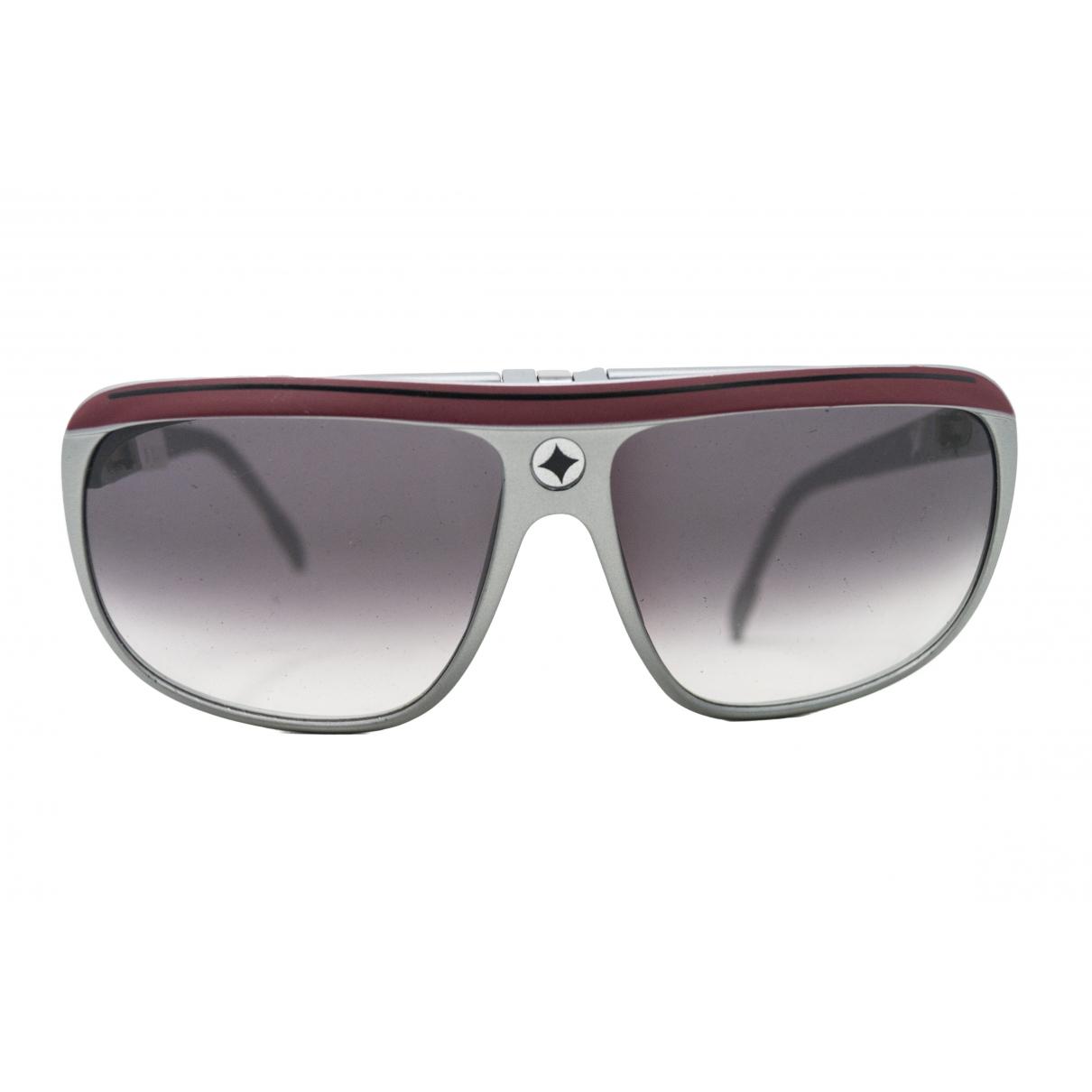 Ag Spalding & Bros \N Silver Sunglasses for Men \N