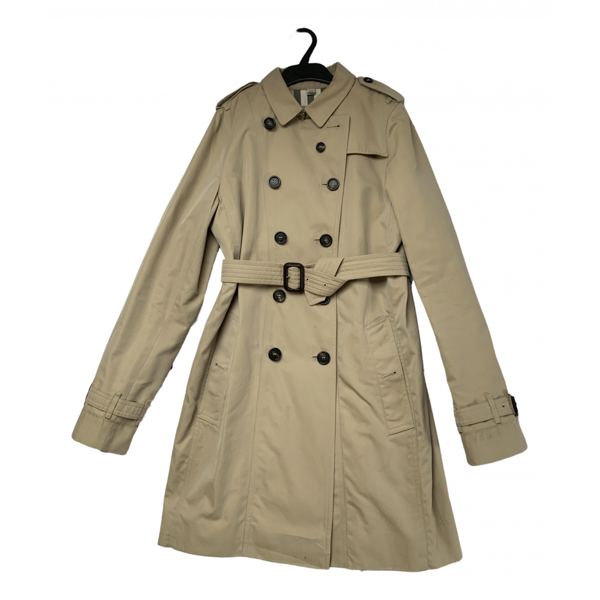 Burberry \N Beige Cotton jacket & coat for Kids 14 years - S FR