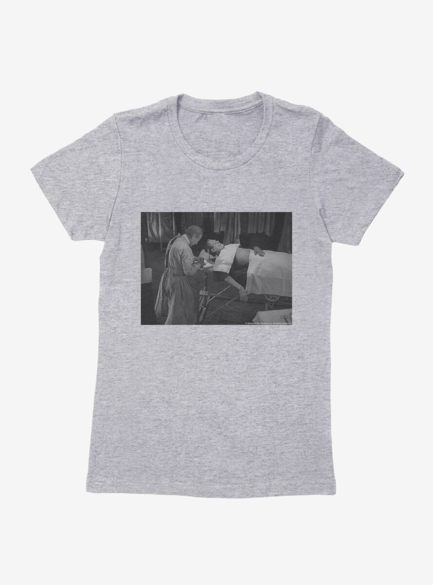 Frankenstein Test Subject Womens T-Shirt