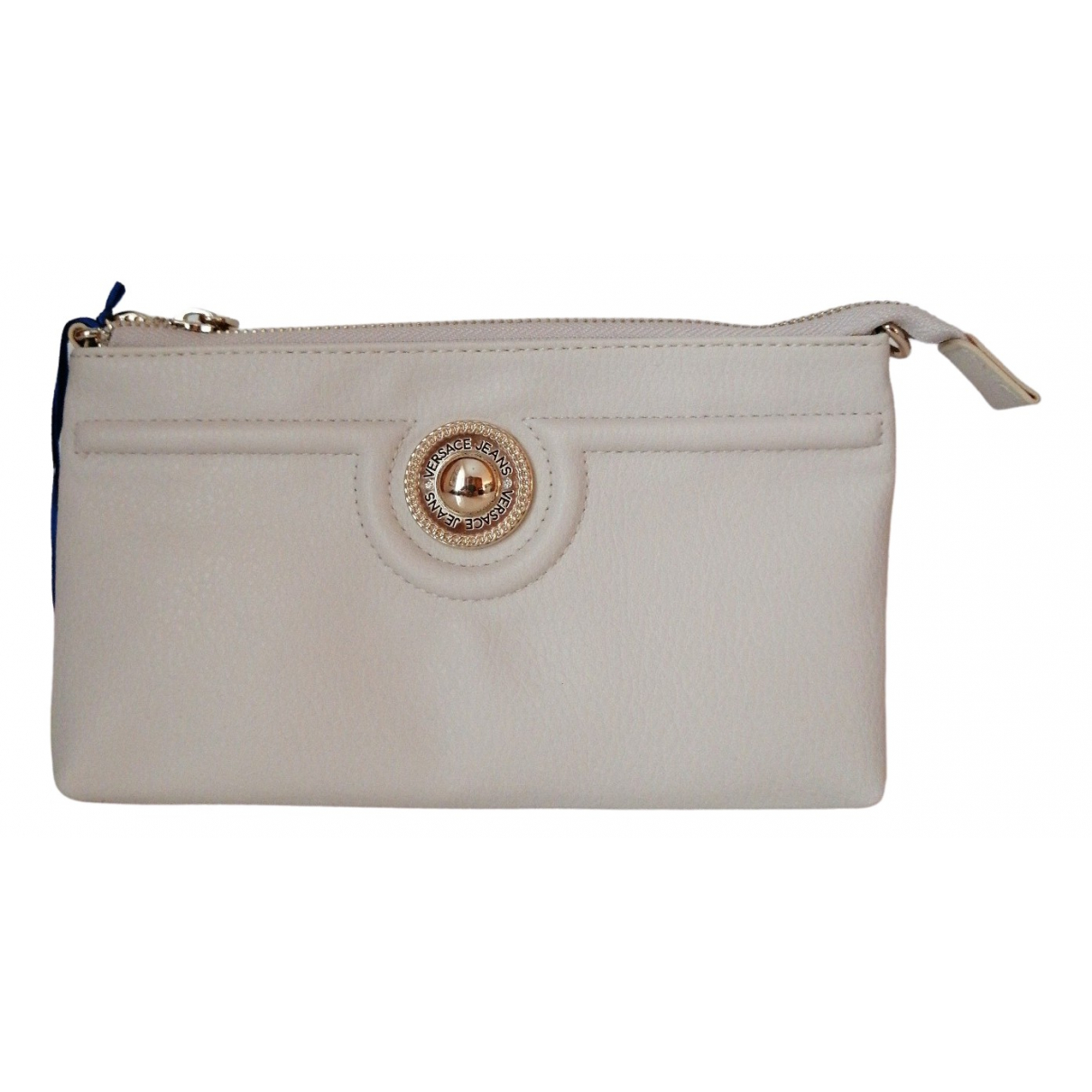 Versace Jeans \N White Clutch bag for Women \N