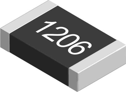Yageo 22 kO, 22 kO, 1206 (3216M) Thick Film SMD Resistor 5% 0.25W - AC1206JR-0722KL (5000)