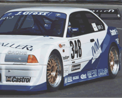 Flossman GT Rear Wing Special Touring BMW E36 3-Series 92-98