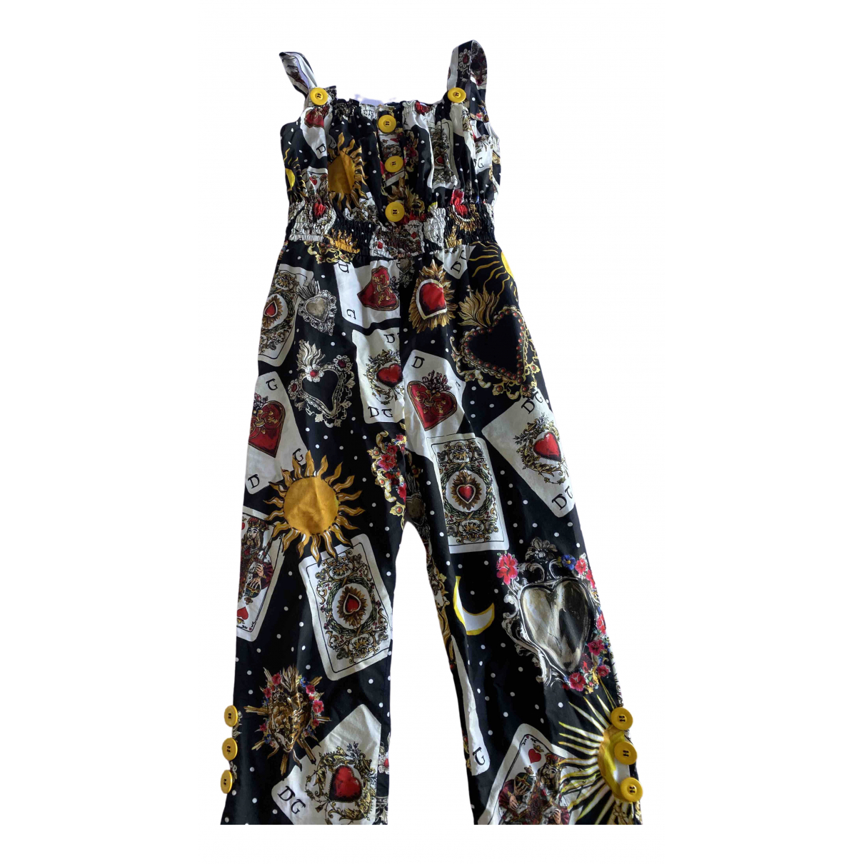 Dolce & Gabbana \N Multicolour Cotton Trousers for Kids 10 years - up to 142cm FR