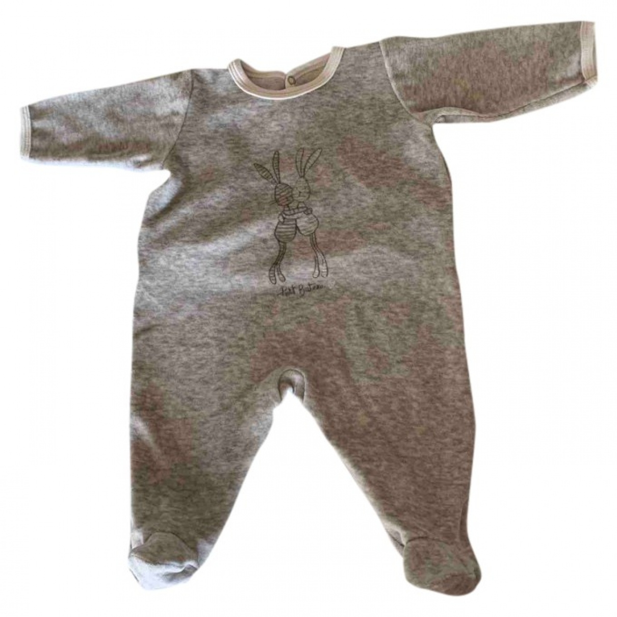 Petit Bateau \N Grey Cotton Outfits for Kids 3 months - up to 60cm FR