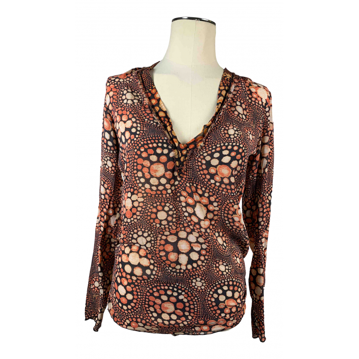 Jean Paul Gaultier \N Multicolour Silk  top for Women 38 FR