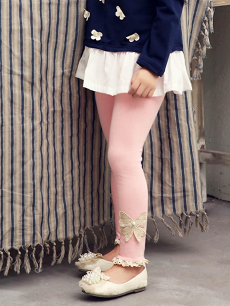 Ericdress Lace Appliques Girls Leggings