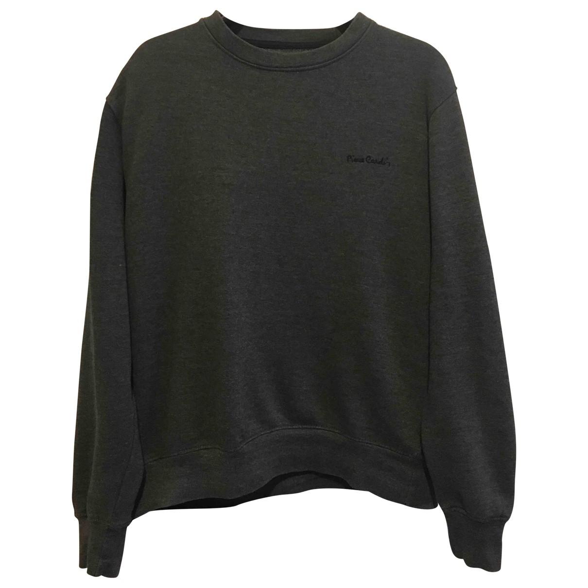 Pierre Cardin \N Grey Cotton Knitwear & Sweatshirts for Men L International
