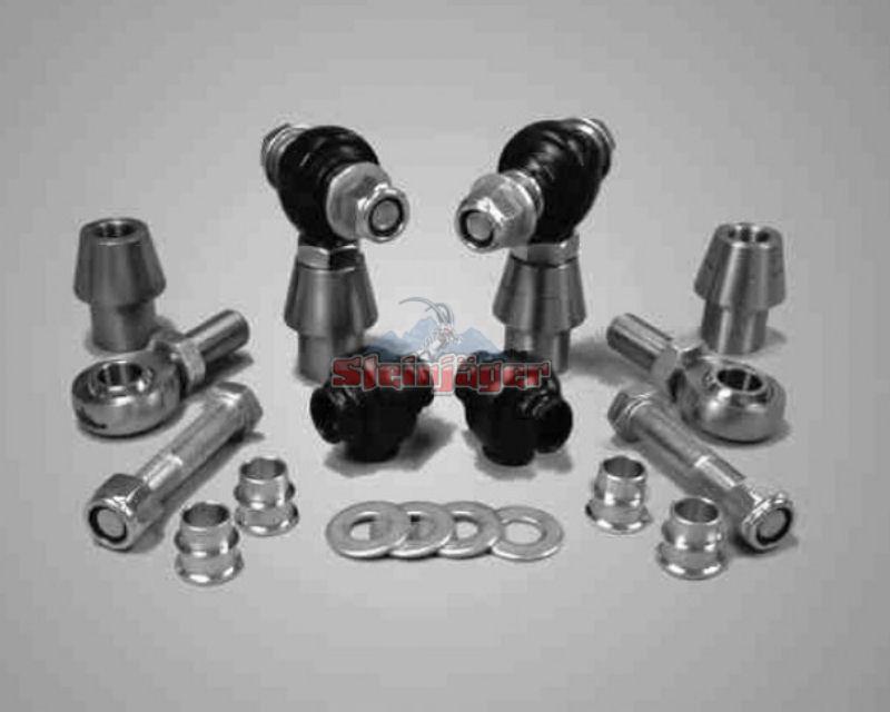 Steinjager J0000543 Rod Ends Set 1.25-12 for 2.000 OD x .250 Ball ID 2HSS-32250-20-16-XX-ZZ 1.25-12 x 1