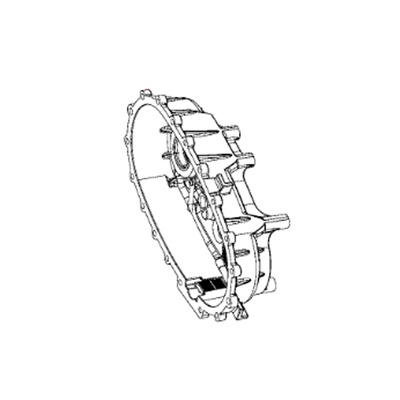 Jeep NV241OR Rear Transfer Case Half - 68001932AA