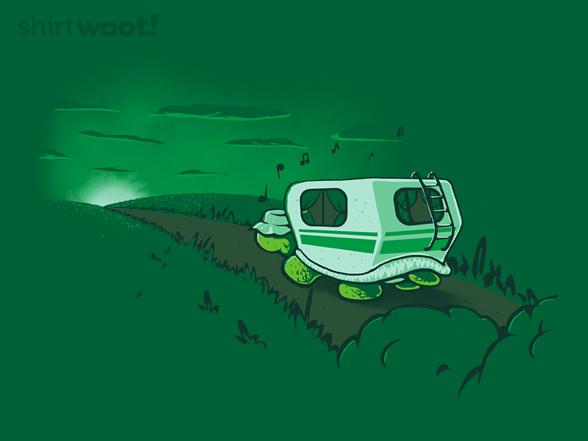 Green Traveler T Shirt